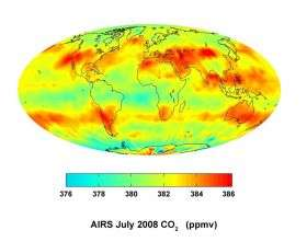 NASA Maps Shed Light on Carbon Dioxide's Global Nature